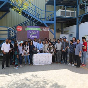 Greenwich University Students Visit to Dairy Land