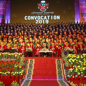 HD coverage of the Convocation